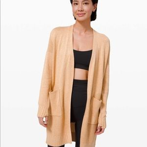 Lululemon Sincerely Yours Sweater - Ivory Peach